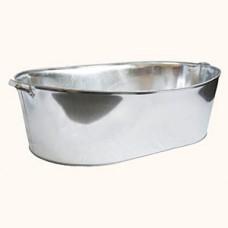 Galvanized bathtubs (75 L, 100 L and 120 L)